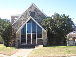 Charlotte, Texas - Image: First United Methodist Church, Charlotte, TX IMG 2522