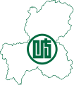 Flag map of Gifu Prefecture.svg