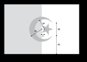 symbolique drapeau algerie-