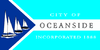Flag of Oceanside, California