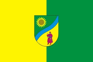 Vasylkivka Raion - Image: Flag of Vasylkiv raion of Dnipropetrovsk oblast