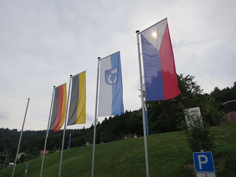 File:Flags at Rizal Park in Wilhelmsfeld, Germany - 1.jpg