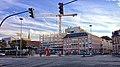 Flensburg ZOB mit Blick auf die Rathausstraße und der Bauerweiterung von Karstadt - panoramio.jpg