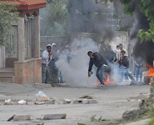 Flickr - Israel Defense Forces - Palestinian Rioters in El-Arrub