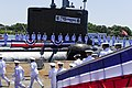 Flickr - Official U.S. Navy Imagery - Sailors assigned to USS Mississippi man the ship during the commissioning ceremony for the Navy's ninth Virginia-class attack submarine. (4).jpg