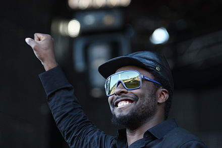 will.i.am performing with The Black Eyed Peas in June 2009 Flickr - moses namkung - Black Eyed Peas 1.jpg