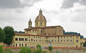 The achiepiscopal seminary of Florence, seen f...
