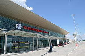 Elazığ Airport - Image: Flughafen Elazığ