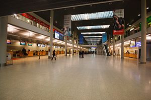 Münster Osnabrück International Airport - Check-in hall