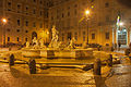 Fontana del Moro at night 01.jpg