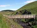Footbridge at Uswayford - geograph.org.uk - 777692.jpg