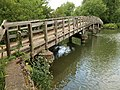 Footbridge over Hinksey Stream - geograph.org.uk - 871863.jpg