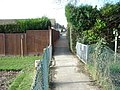 Footpath, Summerhill, Bexhill-on-Sea - geograph.org.uk - 681347.jpg