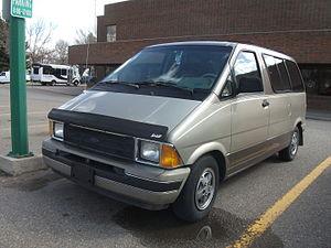 Ford Aerostar - 1989–1991 Aerostar XLT