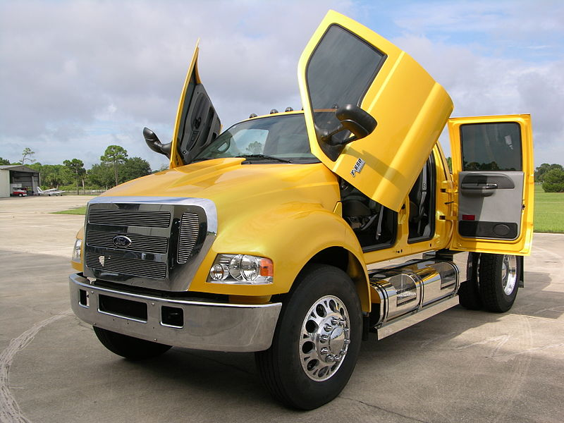 file ford f 650 crew cab pickup jpg wikipedia. Black Bedroom Furniture Sets. Home Design Ideas