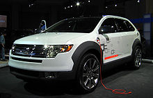 Ford Edge Hydrogen Fuel Cell Electric Plug In Hybrid Concept