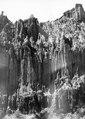 Formationsbild från La Pazdalen. Sydamerika, La Paz-dalen. Bolivia - SMVK - 002329.tif