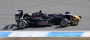Stefano Coletti - Coletti competing at the opening round of the 2008 Formula 3 Euro Series at Hockenheim.
