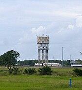 Former Darwin RAAF control and water tower