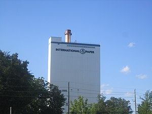 Bastrop, Louisiana - The former International Paper Company mill