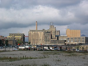 Pabst Brewing Company - The former Pabst Brewery in Milwaukee, Wisconsin