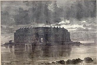 Fort Lafayette - Fort Lafayette in Harper's Bazaar magazine