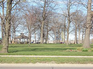Fort Gratiot - Pine Grove Park, 2012 - the southern section of Fort Gratiot