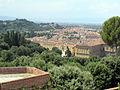 Forte belvedere, vista su palazzo pitti 01.JPG