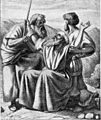 Foster Bible Pictures 0067-1 Moses Is Holding Up His Rod.jpg