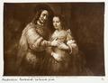 Fotografi på målningen Den judiska bruden - Hallwylska museet - 104485.tif