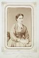 Fotografiporträtt på barn, Clara Catharina von Kahlden, f. Kempe, 1860-tal - Hallwylska museet - 107826.tif