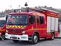 Fourgon pompe-tonne Mercedes des pompiers de Paris..JPG