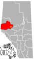 Fox Creek, Alberta Location.png