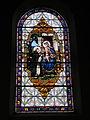 Fr Chapelle Notre-Dame-de-Lhor Saint Benedict stained glass.jpg