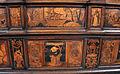 Fra Damiano da Bergamo, dossale del presbiterio di s. domenico, 1528-38, testa di s. paolo, cacciata dal paradiso terrestre.JPG
