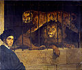 Francesco Hayez - Self-portrait with Tiger and Lion - Google Art Project.jpg