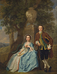 Francis Hayman: George and Margaret Roger