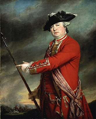 Battles of Lexington and Concord - Francis Smith, commander of the military expedition, in a 1763 portrait