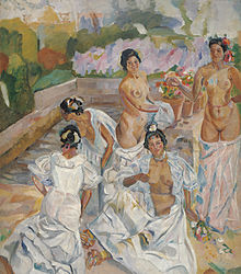 Francisco Iturrino The Bath (Seville).jpg