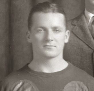 Frank Steketee - Frank Steketee cropped from 1921 Michigan football team photograph
