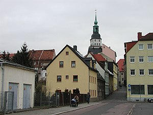 Frankenberg, Saxony - View from the town