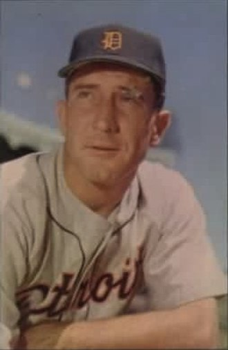 Fred Hutchinson - Hutchinson in 1953 with the Detroit Tigers.