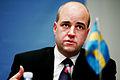 Fredrik Reinfeldt, statsminister Sverige, under sessionen i Kopenhamn 2006.jpg