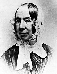 Fredrika Bremer fotograferad av Mathew B. Brady 1849.