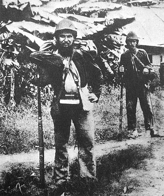 French Indochina - French marine infantrymen in Tonkin, 1884