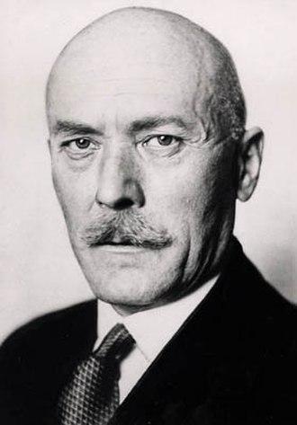 German–Soviet Axis talks - Ambassador Friedrich Werner von der Schulenburg