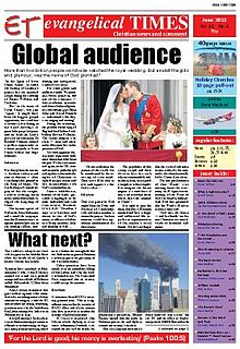 Front Page of the Evangelical Times for June 2011.jpg