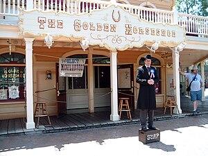Golden Horseshoe Saloon - Image: Frontierland's Mayor