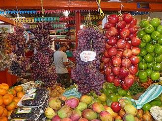 San Agustín, Huila - Image: Fruits au marché de San Agustin