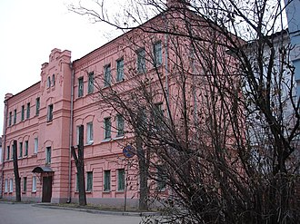 Vladimir Central Prison - The Frunzensky District, Vladimir courthouse in the prison complex